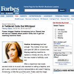 Forbes - A Twitterati Calls Out Whirlpool