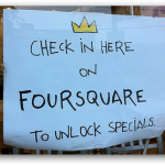 Foursquare everywhere, (c) seanaes