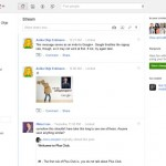 Google Plus Interface