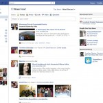 Facebook Interface