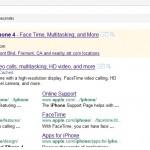 Produktanzeige auf google.com