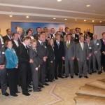 We as member of Delegation of Gov. of Lower-Saxony Christian Wullf meeting Gov. Schwarzenegger