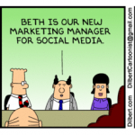 Social Media Marketing Manager by Scott Adams