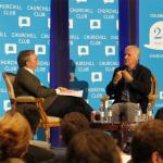 Kamingespräch Eric Schmidt mit Jim Cameron