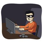 SVEXP Computer hacker in the dark