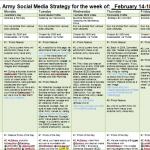 Social Media Wochenplan