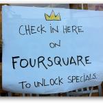 Foursquare everywhere, (c) seanaes