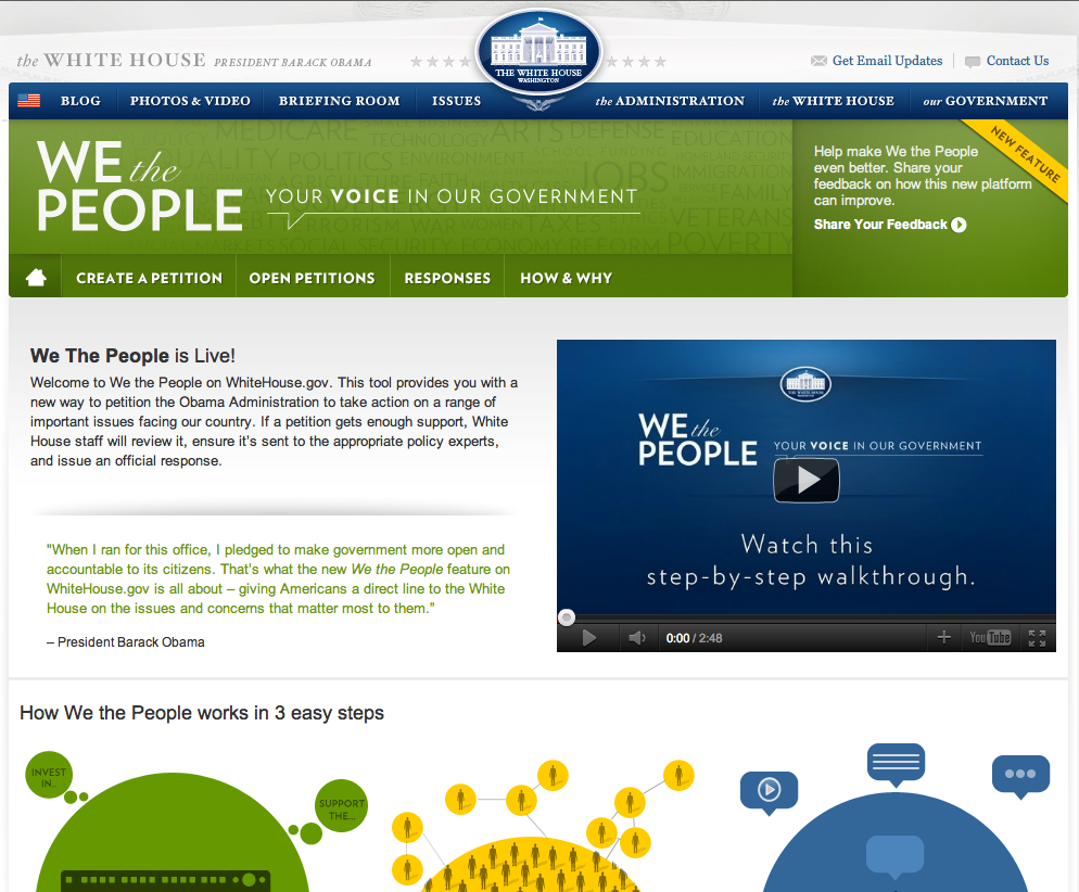 We the people Portal